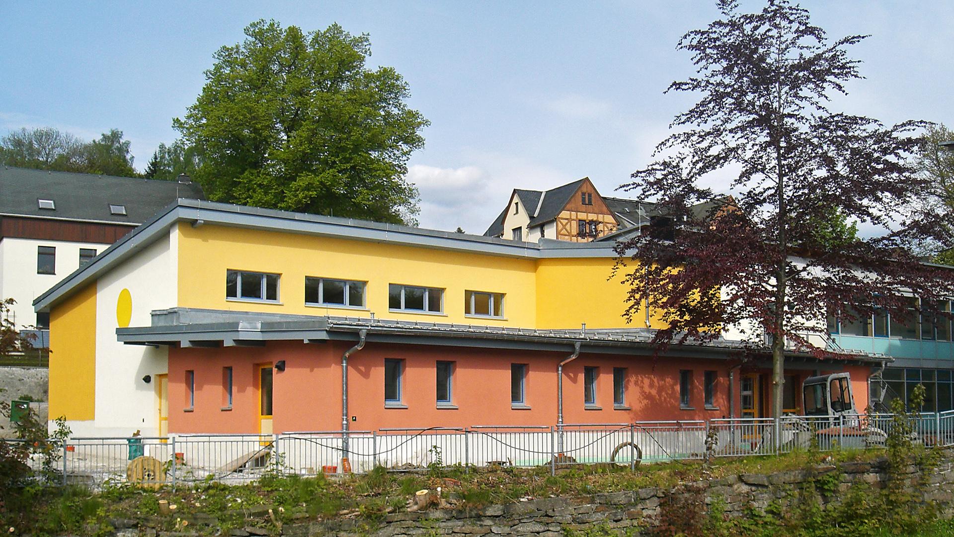 Gymnasium Olbernhau / Aula